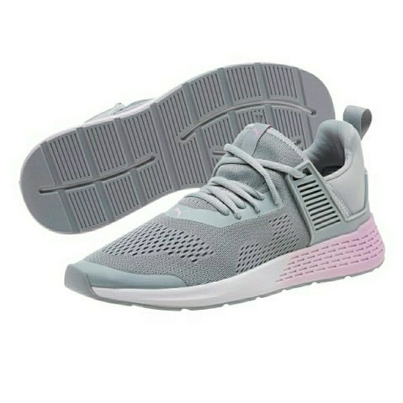 classic styles good looking official site PUMA Softfoam+ Optimal Comfort Mesh-knit Sneakers NWT